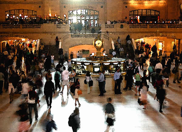 Crossing Paths at Grand Central